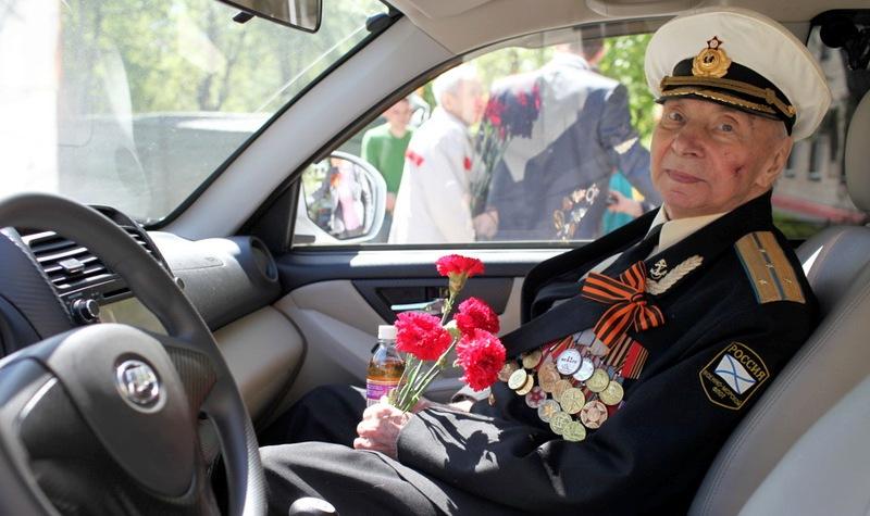 В День Победы в Севастополе пройдет акция «Подвезу ветерана»